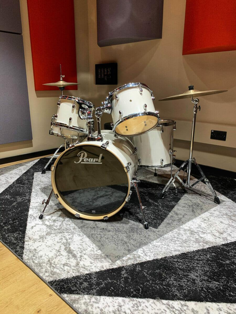 recording studio drumkit
