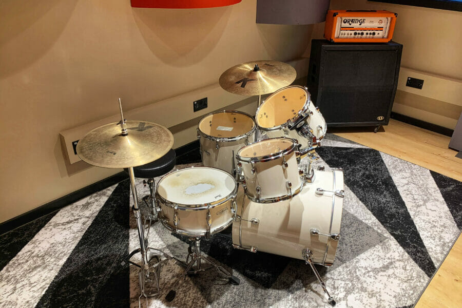 rehearsal space drums
