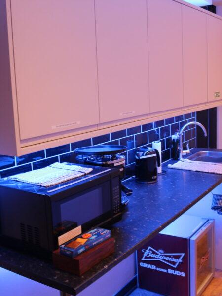 recording studio kitchen facility